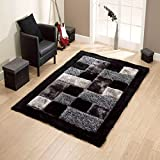 #9: Brand New Hand Loom Modern Stone 5D Shaggy Rugs and Carpets for Living Room, Hall