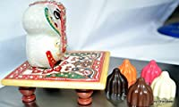 Ganesh Chaturthi Special - Assorted Chocolate Modak 15pc with Ganesh Marble Statue