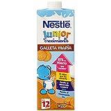 Nestlé Junior Crecimiento con Galleta María - A Partir de 1 Año - Pack de 3 x 1 L - Total: 3 L