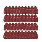 OULII Schleifblätter Grit 14cm Sander Bremsbeläge Schleifen Blätter Scheiben gemischt 40 80 120 240 40 für Multischleifer 40 Stück