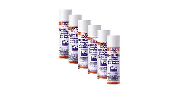 6x Liqui Moly Lubricant Silicone Release Agent 3310 Silicone Spray 300ml Auto
