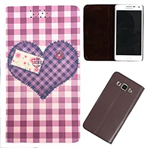 DooDa - For Redmi 1S PU Leather Designer Fashionable Fancy Flip Case Cover Pouch With Smooth Inner Velvet