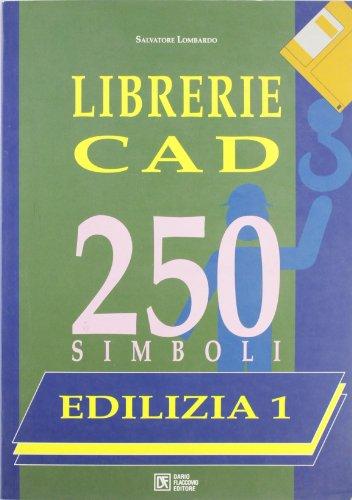 Librerie CAD. 250 simboli. Con floppy disk: 1 usato  Spedito ovunque in Italia