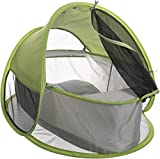 Bieco 37000100 - Pop up Baby Reisebett mit UV- und Insekten Schutz, ca. 92 x 73 x 64 cm