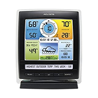 AcuRite 06016RM Color Display with Weather Ticker for 5-in-1 Weather Sensors
