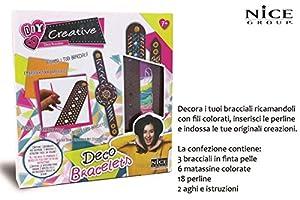 Nice S.R.L Creative CREA Decora Pulseras 46002,, 898027