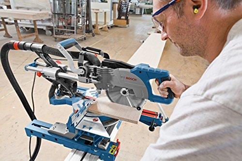 Bosch Professional Paneelsäge GCM 800 SJ (Kreissägeblatt, Karton, Sägeblattdurchmesser: 216 mm, Sägeblattbohrungs-Ø: 30 mm, 13,5 kg, 1400 Watt) - 3