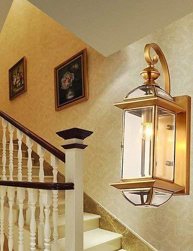 XFZ * Wandleuchten Mini Style/Glühlampe inklusive Traditional/Classic Metal, weiß -
