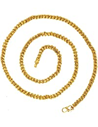 BFC- Buy For Change Traditional One Gram Gold Plated Long Chain For Women And Girls