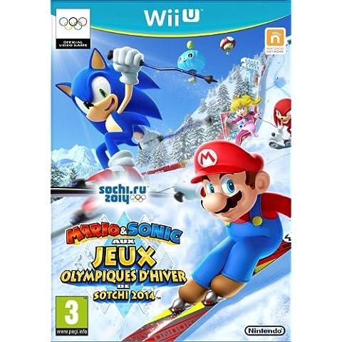 Mario Et Sonic Aux Jeux Olympiques D'Hiver De Sotchi 2014 [Importación Francesa]