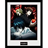GB eye 16 x 12-Inch Death Note, Light L and Misa Framed Photograph by GB Eye Limited