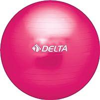 Delta Unisex Pilates Egzersiz Topu 65 Cm Ds 3877, Fuşya, Tek Beden