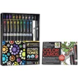 Chameleon 22-Pen Deluxe Set and Tattoo Color Cards by Chameleon