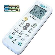HQRP - Telecomando per condizionatori Mitsubishi, Toshiba, Hitachi, Fujitsu, Hyundai,