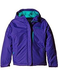 Columbia Alpine Free Fall Jacket - Chaqueta, color hyper púrpura / verde maya, talla M