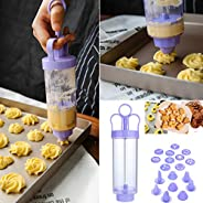 💕💕 Cookie Biscuit Making Maker Pump Press Machine Decor Kitchen Mold Tools Set