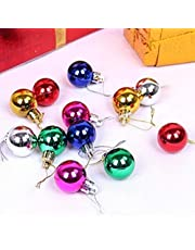 VMP Christmas Tree Balls in The Tinsel Ornaments (Multicolour) Pack of 12