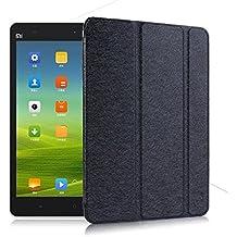 PREVOA ® 丨 Funda de piel de cuerpo entero para Xiaomi Mi Pad 7.9 Pulgadas Tablet con Auto Sleep/Wake Function - Negro