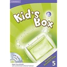 Kid's Box 5 Teacher's Resource Pack with Audio CDs (2) - 9780521688260