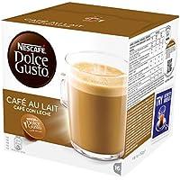 NESCAFÉ Dolce Gusto Cafe Au Lait, Pack of 3 (Total 48 Capsules, 48 servings)