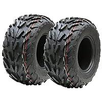 Dos (par) 16x8.00-7 neumáticos de cuádruple, 16 x 8-7 ATV E marcó el neumático de la Carretera Legal 7 Pulgadas