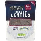 Merchant Gourmet Listos Para Comer 250g De Lentejas Beluga (Paquete de 6)