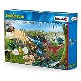 Schleich dinosaures - calendrier de l'avent vélociraptor en chasse à l'aventure