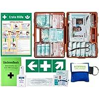 Erste-Hilfe-Koffer M2 PLUS für Betriebe ab 50 Mitarbeiter DIN/EN 13169 -Komplettpaket- incl. 3 AUFKLEBER & AUSHANG... preisvergleich bei billige-tabletten.eu