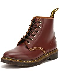 Dr.Martens Mens 101 Arc 6 Eyelet Leather Boots