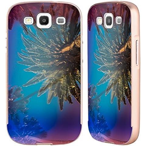 Ufficiale Elena Kulikova Palme Della California Tropicale Oro Cover Contorno con Bumper in Alluminio per Samsung Galaxy S3 III I9300