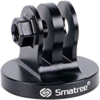 Smatree® Aluminium Stativ Mount Adapter für GoPro Hero7/2018, Hero 6, 5, 4, 3, 2, 1 HD (Schwarz)