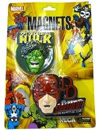 Marvel Hulk & Daredevil Magnet Set