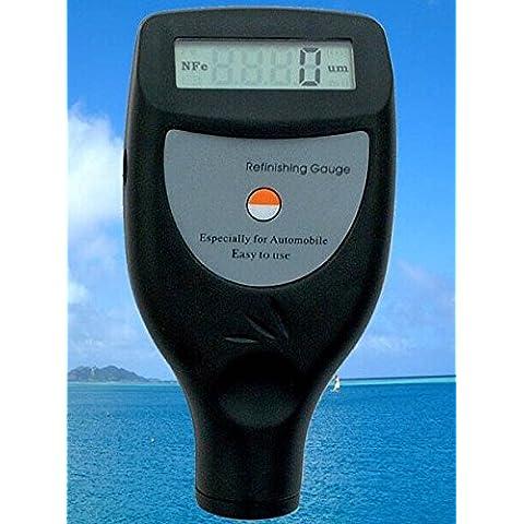 GOWE medidor de espesor de revestimiento de pintura calibre con F/NF sonda 0~ 1250UM/0~ 50mil