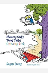 Memory Owl's Times Tables Colouring Book Paperback
