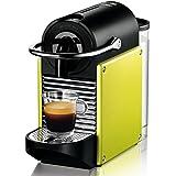 Nespresso Pixie Lime EN125L DeLonghi  - Cafetera monodosis (19 bares, Apagado automático, Sistema calentamiento rápido), Color lima