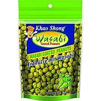 Khao Shong, Guisante deshidratado (con wasabi) - 12 de 140 gr. (Total 1680 gr.)