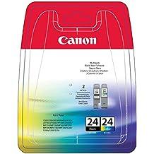 Canon 6881A064 - Cartucho de tinta, pack de dos unidades, negro y color