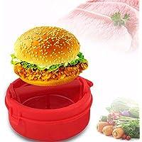 Idea High PREUP - Prensa de hamburguesa de plástico para hacer hamburguesas y patatillas, utensilio
