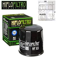 FILTRO OLIO MOTORE HIFLO HF303 PER YAMAHA ATV YFM660 FHS Grizzly 660 4x4 Hardwoods Hunter Camo04