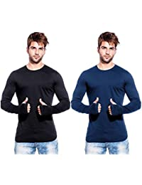 Try This Men Casual Thumb Hole | Full Sleeve | Round Neck | Slim Fit T-Shirt For Men