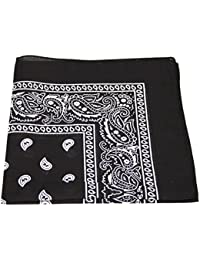 Men's/Women's Bandana Head or Neck Scarves Paisley Pattern 100% Cotton