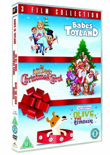 Babes in Toyland / An All Dogs Christmas Carol / Olive, the Other Reindeer Triple Pack [DVD] [1997] by Lacey Chabert