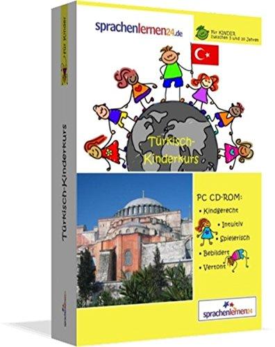 Türkisch-Kindersprachkurs von Sprachenlernen24.de: Kindgerecht bebildert und vertont für ein spielerisches Türkischlernen. Ab 5 Jahren. PC CD-ROM für Windows 8,7,Vista,XP / Linux / Mac OS X