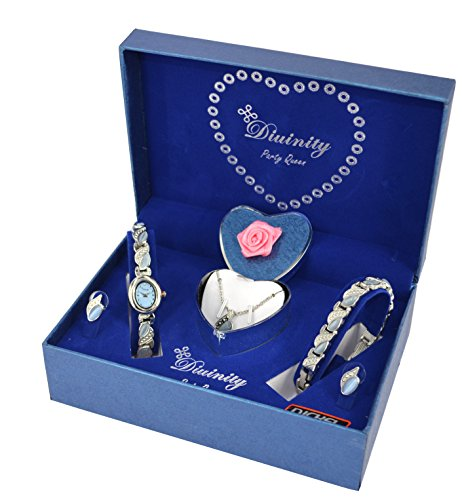 - 514  OnzS2L - LADIES GIFT SET – WATCH, BRACELET, EARINGS & NECKLACE  - 514  OnzS2L - Deal Bags