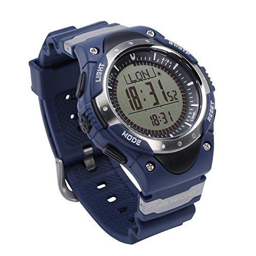 bdf67c45cdc8 SUNROAD FR826A Outdoor Sport digital - Relojes del reloj de los hombres de  causal altimetro barometro