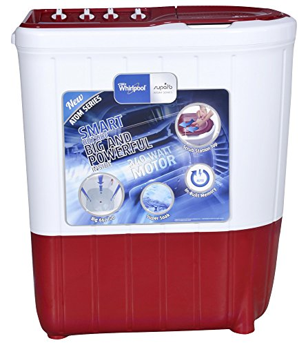 Whirlpool Superb Atom 65S Semi-automatic Top-loading Washing Machine (6.5 Kg,...