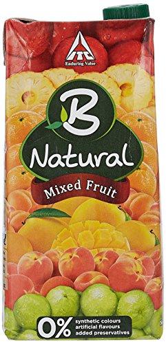 B Natural Juice - Mixed Fruit,1 L Carton