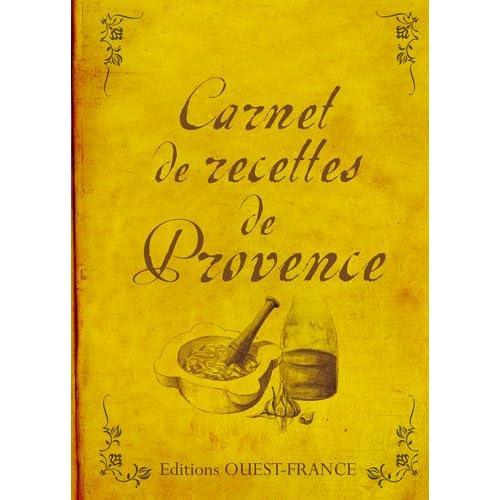 Carnet de recettes de Provence