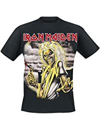 Iron Maiden Killers Camiseta Negro