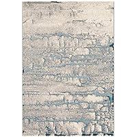 Arte Espina Teppich Farbverlauf Wohnzimmer Bunt Gelb Blau 120x180cm